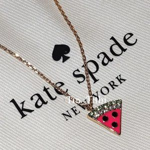 Kate Spade Watermelon Pendant 🎉Host Pick🎉
